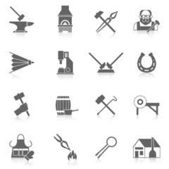 Blacksmith Icon Set