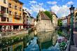 Leinwanddruck Bild - Annecy