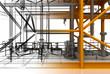 Tubature, riscaldamento, compressori, bim, convettori - 77448741