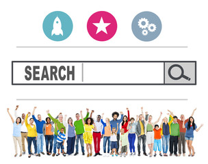 Search Browsing Web Internet Information Online Concept
