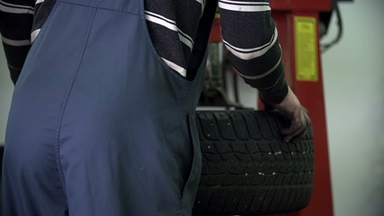 Fixing the level of tire
