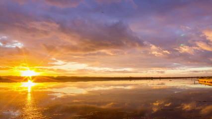 Algarve QDL cloudscape Sunset timelapse