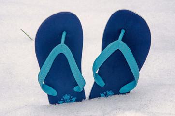 Schnee FlipFlops