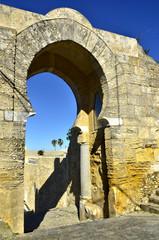 Puerta arabe del siglo X en Medina-sidonia.Cádiz.España