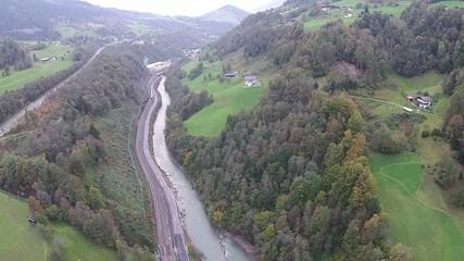 Tal in den Bergen, Salzburg Austria
