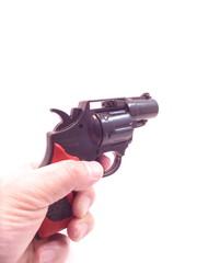 威嚇・銃口・拳銃