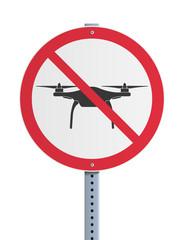 Panneau - Drone interdit