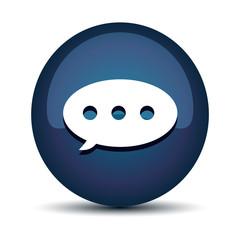 Chat speech balloons icon