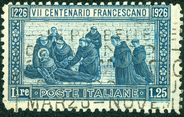 600th anniversary of the death of St. Francis of Assisi