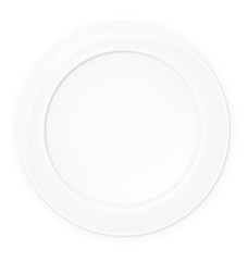 plate vector illustration