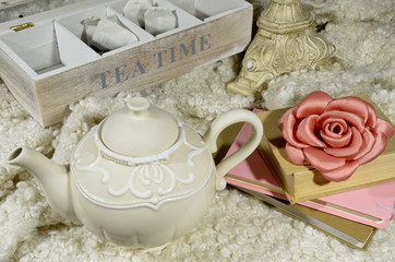 Teapot and tea time