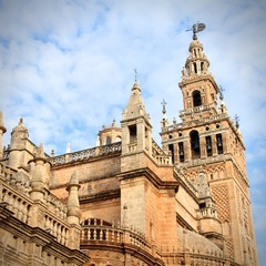 Landmark of Seville - the Cathedral