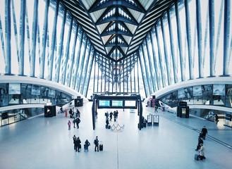 Accueil aéroport
