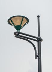 Old lantern on the street.