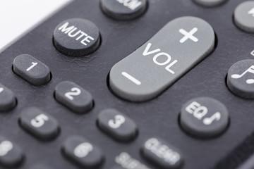 a gray remote control