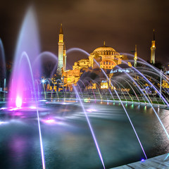 Hagia Sofia night time