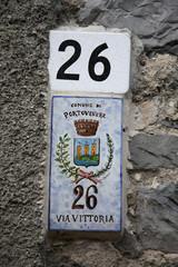 portovenere liguria numero civico