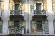 Milan, Casa Galimberti, house in liberty style