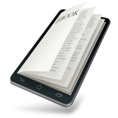 EBook on mobile device