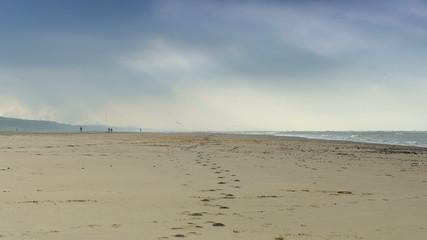 Seaside in winter
