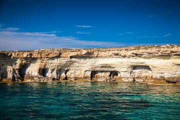 sea caves near Ayia Napa