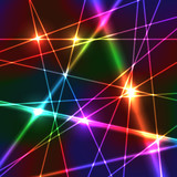 Rainbow Laser Background