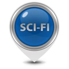 SciFi pointer icon on white background