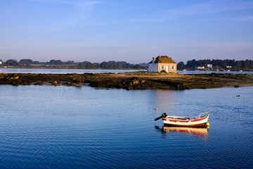Paysage de Bretagne : Saint-Cado (Morbihan)