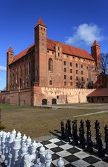 Teutonic castle in Gniew