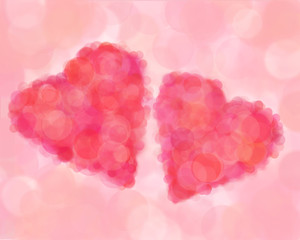 Hearts blur