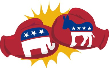 election boxing gloves
