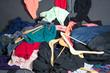 Leinwandbild Motiv Kleidung
