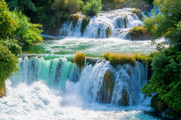 Waterfalls Krka