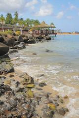 Beach Pointe du Bout, Martinique