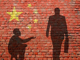 China Inequality poster