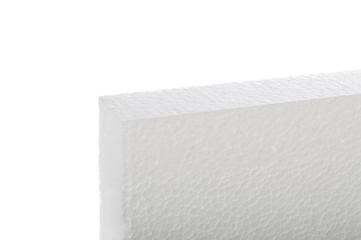 Styrofoam panel isolated