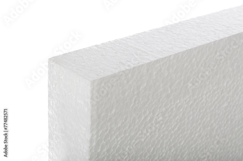 Styrofoam panel isolated - 77482571