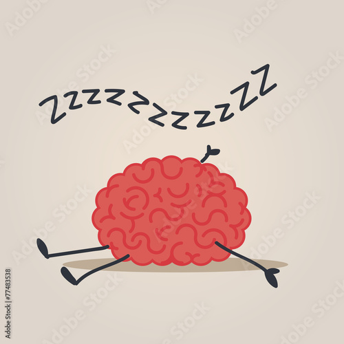 Sleepy Brain character - 77483538