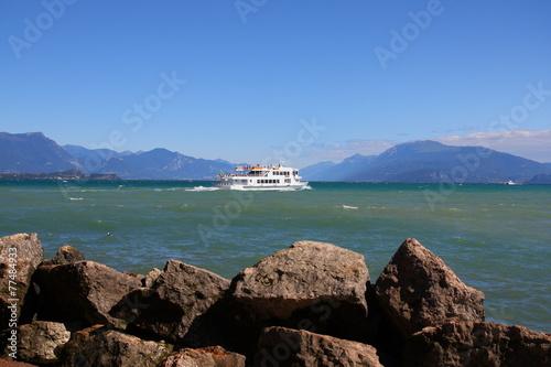 Leinwandbild Motiv Desenzano Gardasee