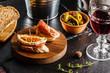 Obrazy na płótnie, fototapety, zdjęcia, fotoobrazy drukowane : Spanish dinner cooked and served on the table
