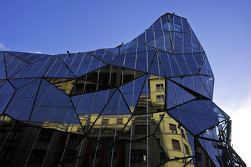 Modern building in Bilbao
