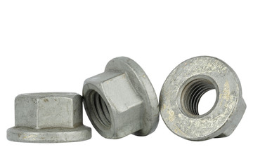Special design, nuts for the automotive industry