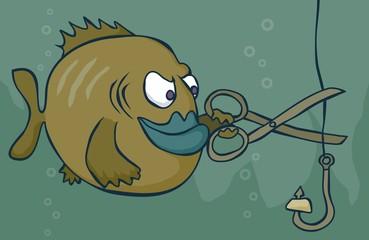 fish sabotage