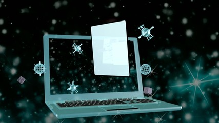 Telecommunications computers technologies.Animation