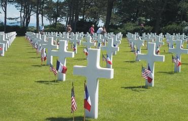 photo cimetière débarquement