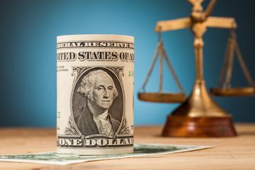 dollar money  closeup