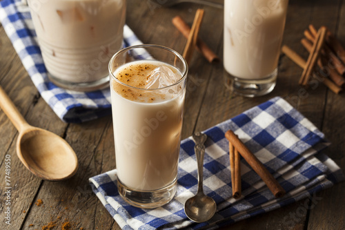 Homemade Horchata with Cinnamon - 77489550