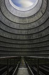 tour de refroidissement - Centrale électrique