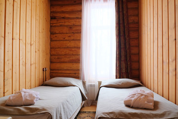 Bedroom in a country house