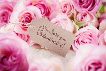 Rosentraum in pastell zum Valentinstag